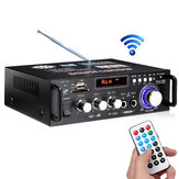 BT-298A110V 12V HIFI Bass Car Audio Stereo eindversterker bluetooth FM-radio 2CH 600W LED Diaplay Ondersteuning FM AUX SD voor in de auto