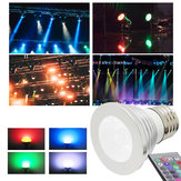 3W E27 RGB LED Bulb 16 Color Spotlight With Memory IR Controller AC220V for Party Home Decoration