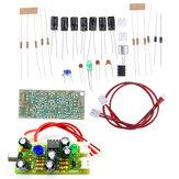 Mikrofon afhentning Audio Mikrofonforstærker Modul DIY Kit Dobbelt spor Output Gevinst Justerbar DC 12V 3.5mA MIC lydstemme