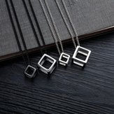 Retro Rubik's Cube Pendant Pendant Necklace
