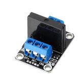 10 pcs 1 canal 5V relais à semi-conducteurs déclencheur de haut niveau DC-AC PCB SSR en 5VDC hors 240 V AC 2A