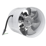40 W 6-Zoll-Inline-Kanalventilator Booster 150 mm Abluftgebläse Luftkühlung Entlüftungsventilator 1080 m³ / h