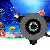 12 LED submersível aquário bolha luz ar pedra peixe bomba bomba Controle Remoto