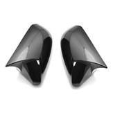 Horn Glossy Black Rear View Side Car Mirror Cover Caps Fit For Toyota Camry 2018+ Avalon 2019 C-HR 2016-2018+