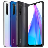 Xiaomi Redmi Note 8T Global Version 6.3 inch NFC 48MP Quad achteruitrijcamera 4GB 64GB Snapdragon 665 Octa core 4G Smartphone