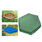 3 Maten Hexagon Oxford Sandbox Zandbak Cover Meubels Stofdicht Waterdichte Outdoor Case