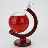 500ml Masaüstü Küre Bar Viski Standı Raf Pot Ahşap Masa Standı Ekran Süslemeleri