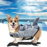 XS / S / M / L / XL Ajustável Cachorro Colete Salva-vidas Roupas de Natação para Animais Bóia Casaco de Segurança Colete para Animais de Estimação