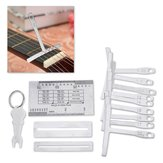Stainless Steel Pin Puller Keychain Luthier Tools Kit Guitar Accessories Hand Tools Set