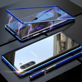 Bakeey Plating Magnetic Adsorption Metal Tempered Glass Protective Case For Samsung Galaxy Note 10/Note 10 5G