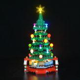 LED-lichtverlichtingsset ALLEEN voor LEGO 40338 Blokken met kerstboomverlichting