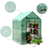Roof Garden Greenhouse PVC Cover Durable House Flower Plant Warm Shelf Shed Planting Grow Box