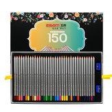 ZIBOM P-150 Zestaw kolorowych ołówków o wysokim stężeniu 150 kolorów Rozpuszczalny w wodzie Kredki do szkicu Ołówki Artysta Szkolne materiały artystyczne