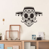 Miico FX3038 Halloween Sticker Cartoon Wall Stciker Skull Pattern Removable Stciker Room Decoration