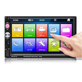 7023B 7 Inch 2Din Wince Car Stereo Radio Auto MP5 Player HD bluetooth Hands-free Touch Screen FM AUX USB Support Reversing Image