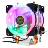 Aurora CPU Cooler RGB Ventilateur 4Pin Pour Intel LGA 775 1150 1151 1155 1156 1366 AMD