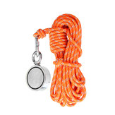 10m Reflective Lifeline Fishing Hiking Climbing Rope Search Magnet Rescue Rope