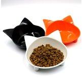 Меламин Материал Кот Тип Pet Bowl Non-Slip Cute 10 Цветов Зоотоваров Кот И Собака Универсальный