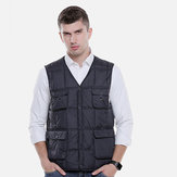 Adjustable Electric Vest Heated Fishing Cloth Jacket USB Thermal Winter-Warmer