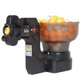 Máquina de bolas automática de robô de prática de tênis de mesa de pingue-pongue para treinamento-exercício