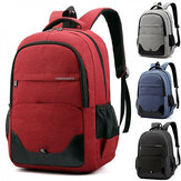 Unisex Business Trip Large Capacity Oxford Cloth Laptop Tablet Macbook Backpack School Bag