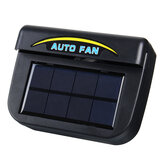 Solar Power Tragbare Mini-Klimaanlage Auto Auto Air Vent Cool Fan Conditioner