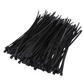 Suleve ZT07 Nylon 250Pcs/500Pcs 6mm 15/20/25/30/35/40cm Black/White Nylon Self-locking Cable Tie Zip Ties Strong Tensile Strength