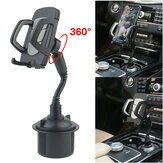 Universal 360° Adjustable Car Mount Gooseneck Cup Car Phone Holder Cradle For Cell Phone Non-original