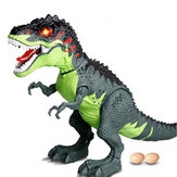 Electric Spray Projection Tyrannosaurus Rex Dinosaur Model Simulation Lay Eggs Animal Model Toys