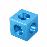 Machifit Three Way Cube Connector for 2020 V-slot Aluminum Extrusions Profile Blue