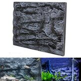 60X45cm 2pcs 3D Foam Rock Reptile Aquarium Background Toile de fond Fish Tank Board