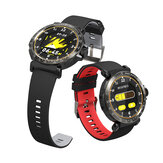 BlitzWolf® BW-AT1 Tela inteira Touch Dymanic UI Display Coração Monitor de pressão arterial de oxigênio de taxa de pressão meteorológica relógio inteligente