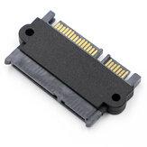 E-opbrengst E14 22-pins mannelijke naar vrouwelijke adapterkaart 7-pins + 15-pins harde schijf SATA-adapter