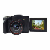 16MP 16X Zoom 1080P HD Rotationsbildschirm Mini Mirroless Digitalkamera Camcorder DV mit eingebautem Mikrofon