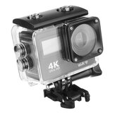 12MP Waterproof Sport Camera Action 4K Mi ni DV Capacete de vídeo DVR Cam