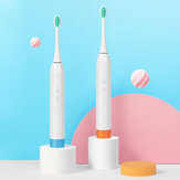SmartSonic+ T5 Electric Toothbrush FDA DuPont Bristle High Frequency Vibration Whitening Teeth USB Quick Charge IPX7 Waterproof Memory Reminder