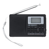 Portable Digital Full Bande AM FM SW MW LW Radio Réveil Réveil