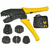 4 in 1 Ratchet Crimper Cable Wire Crimping Plier Electrical Terminals Plier Tool Kit