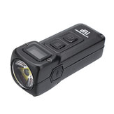 NITECORE TUP XP-L عالي الوضوح V6 1000LM Rechargeable LED Keychain ضوء OLED عرض Intelligent EDC Pocket Flashlight