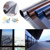 45cm x 2m One-Way Mirror Window Film Self-Adhesive Heat Insulation Explosion-Proof Decorative Film