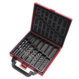 Drillpro 99Pcs High Speed Speed HSS Twist Drill Bit Set 1.0-10.0mm Drill Set for Wood Metal Steel