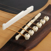 Debbie XZ-A1 Buffalo Bone Bridge Saddle and Nut for Guitar Guitar