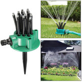 Upgarde Flexible Sprayer Sprinkler Noodlehead Irrigation Spray Lawn Garden Yard Watering with Stand