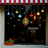 Miico XL629 Kerststicker Woondecoratie Sticker Raam- en muursticker Winkel decoratieve stickers