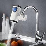 3000W torneira elétrica torneira água quente instantânea Aquecedor casa Banheiro cozinha branco