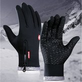 Motorcycle Waterproof Thick Warm Antiskid Men Women Winter Outdoor Sports Glove