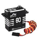 JX Servo C60 8.4V 60KG 180 ° Coreless Metal Gear Digitaler Servo mit großem Drehmoment für RC-Modelle