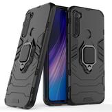 Bakeey Armor Soporte de tarjeta magnética a prueba de golpes Protector Caso para Xiaomi Redmi Note 8