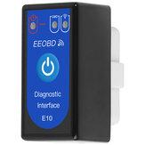 Adaptateur de diagnostic pour scanner de voiture sans fil ELM327 E10 WIFI OBD2