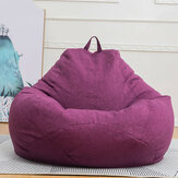 Original              2 Sizes Large Bean Bag Chair Couch Sofa Covers Indoor Lazy Lounger For Adults Baby Seats Protector